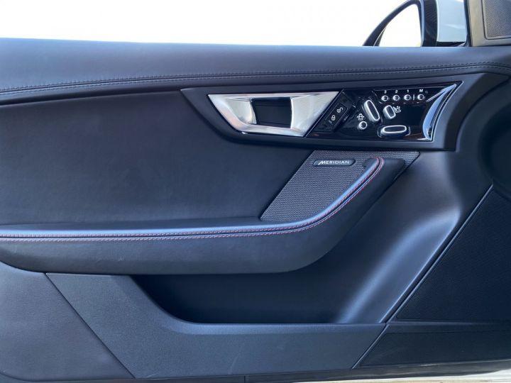 Jaguar F-Type CABRIO 5.0 V8 S 495 CV - MONACO Blanc Polaris Metal - 9