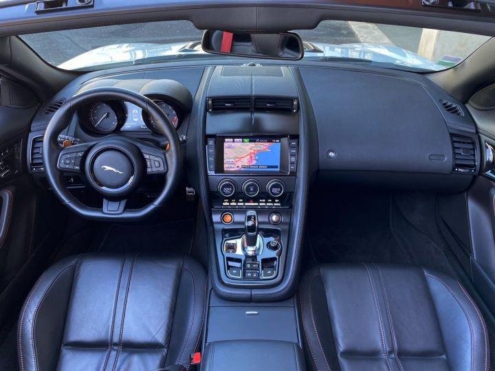 Jaguar F-Type CABRIO 5.0 V8 S 495 CV - MONACO Blanc Polaris Metal - 10