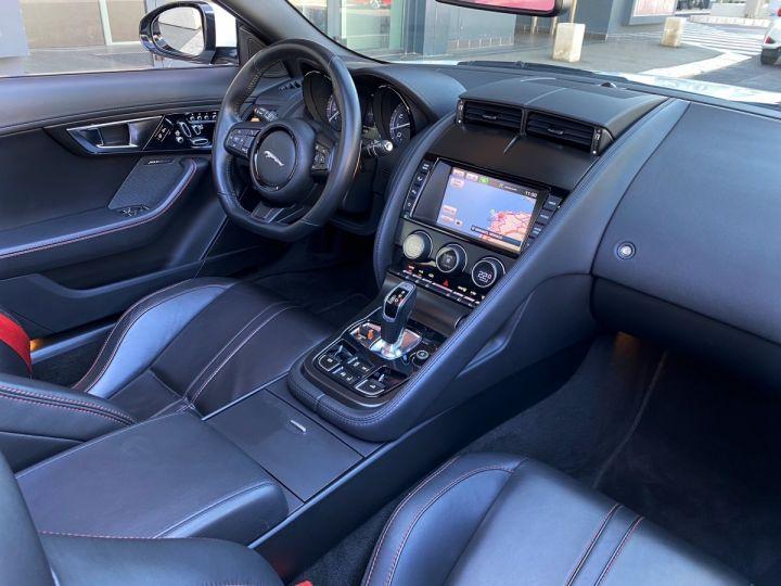 Jaguar F-Type CABRIO 5.0 V8 S 495 CV - MONACO Blanc Polaris Metal - 14