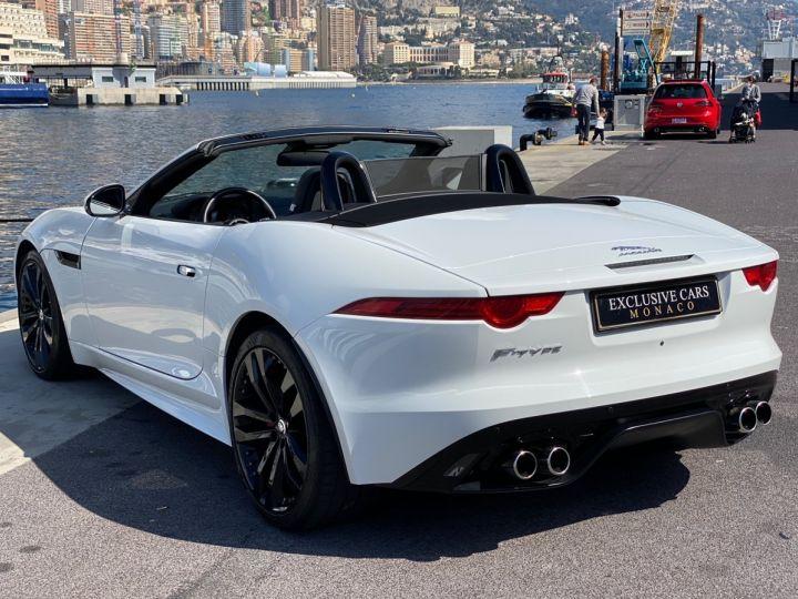 Jaguar F-Type CABRIO 5.0 V8 S 495 CV - MONACO Blanc Polaris Metal - 19