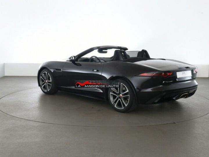 Jaguar F-Type CABRIOLET 2.0 300 AUTO R-DYNAMIC *Black Pack* Livraison et Garantie 12 mois inclus Noir Ultime - 12
