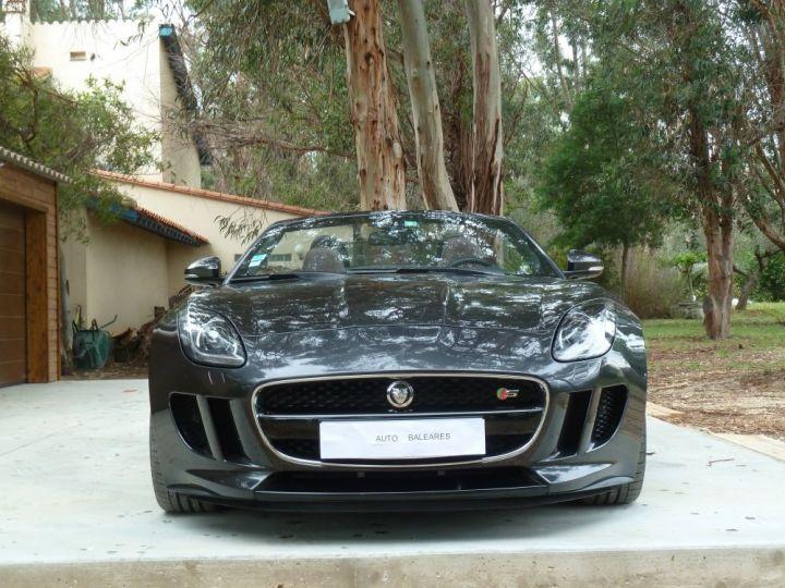 Jaguar F-Type CABRIOLET 3.0 V6 S 380 CV GRIS ANTHRACITE METALLISE - 2