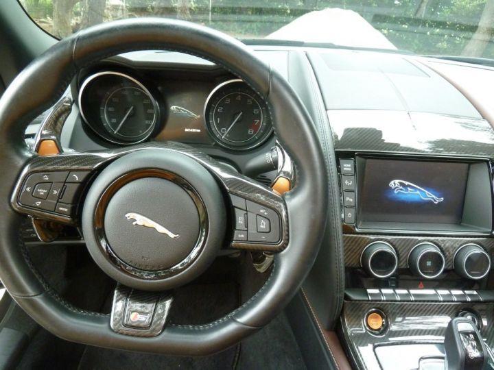 Jaguar F-Type CABRIOLET 3.0 V6 S 380 CV GRIS ANTHRACITE METALLISE - 7