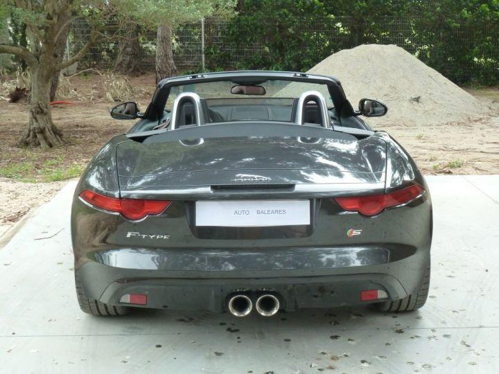 Jaguar F-Type CABRIOLET 3.0 V6 S 380 CV GRIS ANTHRACITE METALLISE - 9