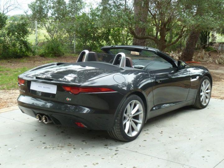 Jaguar F-Type CABRIOLET 3.0 V6 S 380 CV GRIS ANTHRACITE METALLISE - 10