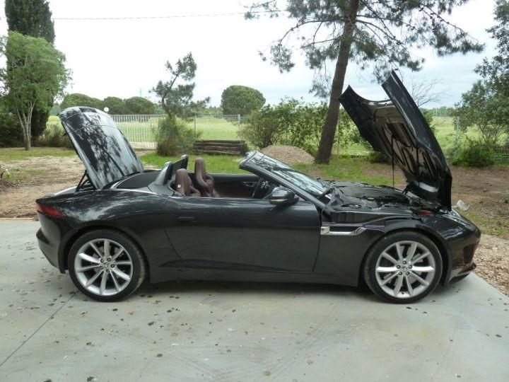 Jaguar F-Type CABRIOLET 3.0 V6 S 380 CV GRIS ANTHRACITE METALLISE - 13