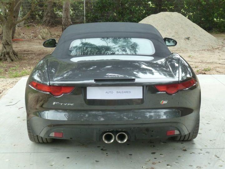 Jaguar F-Type CABRIOLET 3.0 V6 S 380 CV GRIS ANTHRACITE METALLISE - 16
