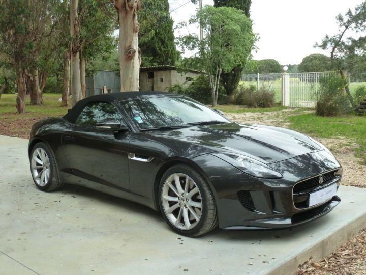 Jaguar F-Type CABRIOLET 3.0 V6 S 380 CV GRIS ANTHRACITE METALLISE - 18
