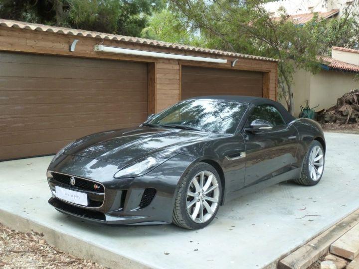 Jaguar F-Type CABRIOLET 3.0 V6 S 380 CV GRIS ANTHRACITE METALLISE - 19