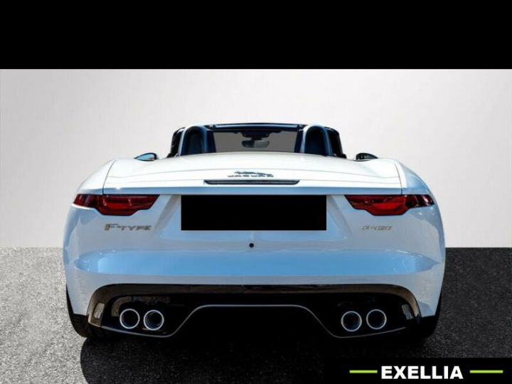 Jaguar F-Type Cabriolet P450 First Edition  BLANC PEINTURE METALISE  Occasion - 4
