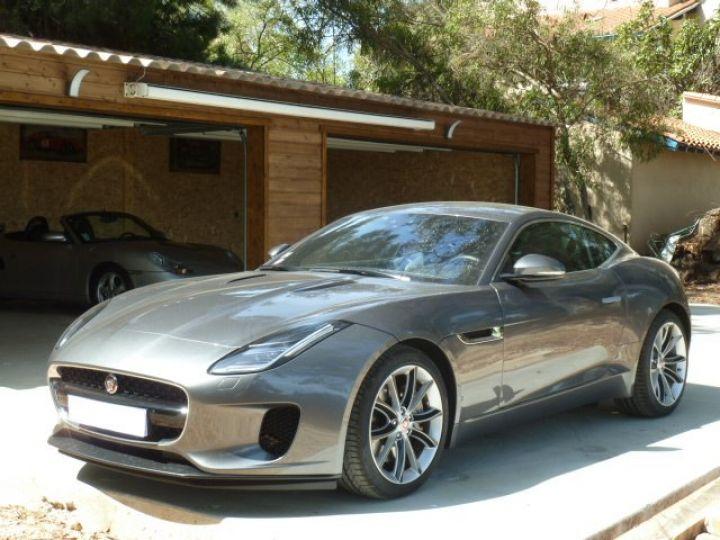 Jaguar F-Type COUPE 2.0 300 BVA8 GRIS AMMONITE - 2