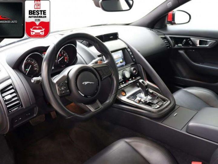 Jaguar F-Type Coupe 3.0 V6 380ch S BVA8 *Toit pano-Cuir-Pack Sport* Livraison & Garantie 12 mois Rouge - 3