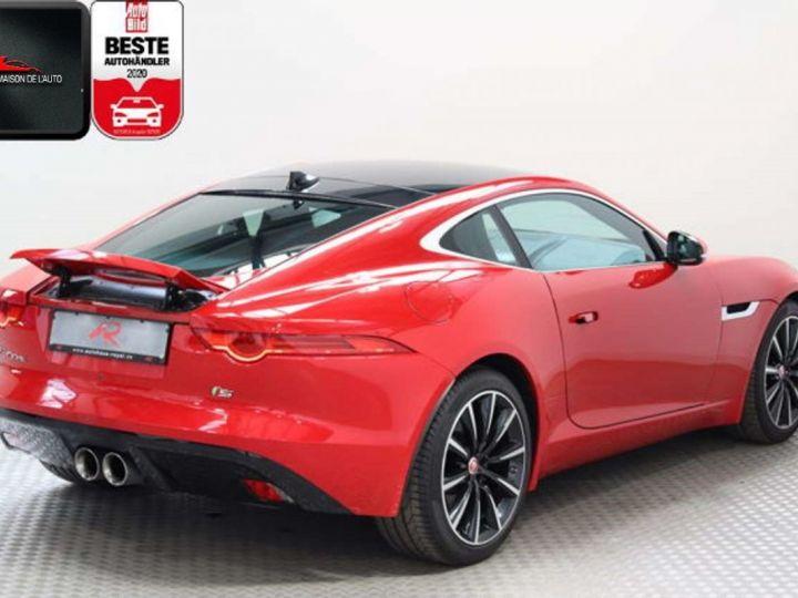 Jaguar F-Type Coupe 3.0 V6 380ch S BVA8 *Toit pano-Cuir-Pack Sport* Livraison & Garantie 12 mois Rouge - 13