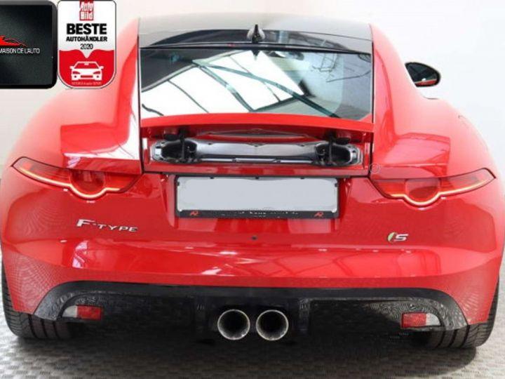 Jaguar F-Type Coupe 3.0 V6 380ch S BVA8 *Toit pano-Cuir-Pack Sport* Livraison & Garantie 12 mois Rouge - 14