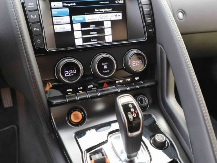 Jaguar F-Type Jaguar F-Type Cabriolet 3.0 V6 380ch S BVA8 Livraison et Garantie 12 Mois Inclus Gris Foncé Stratus - 3