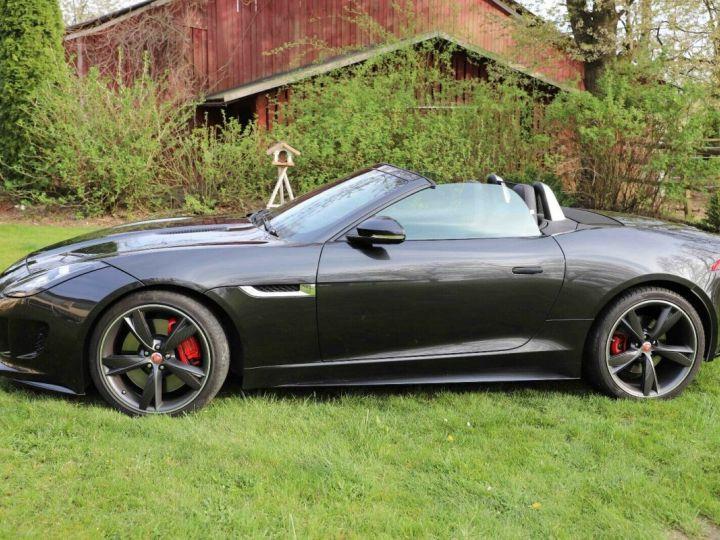 Jaguar F-Type Jaguar F-Type Cabriolet 3.0 V6 380ch S BVA8 Livraison et Garantie 12 Mois Inclus Gris Foncé Stratus - 7
