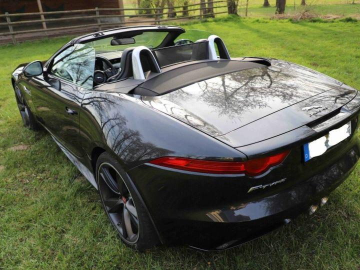 Jaguar F-Type Jaguar F-Type Cabriolet 3.0 V6 380ch S BVA8 Livraison et Garantie 12 Mois Inclus Gris Foncé Stratus - 9