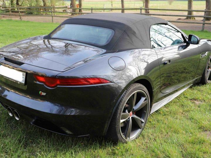Jaguar F-Type Jaguar F-Type Cabriolet 3.0 V6 380ch S BVA8 Livraison et Garantie 12 Mois Inclus Gris Foncé Stratus - 12