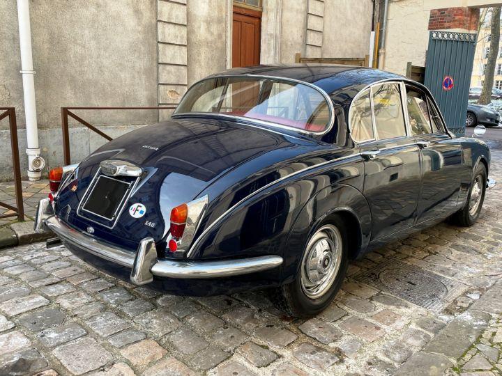 Jaguar MK2 340 Bleu Nuit - 4