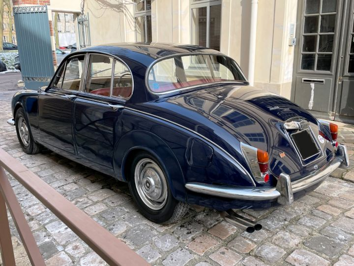 Jaguar MK2 340 Bleu Nuit - 6