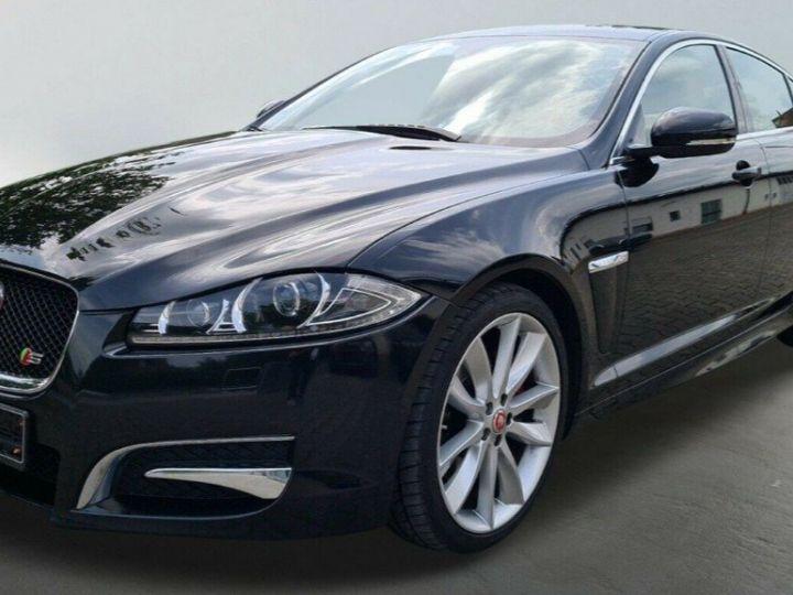 Jaguar XF  3.0 V6 D S 275 LUXE PREMIUM 08/2014 noir métal - 5