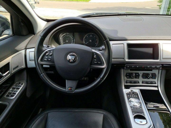 Jaguar XF  3.0 V6 D S 275 LUXE PREMIUM 08/2014 noir métal - 10