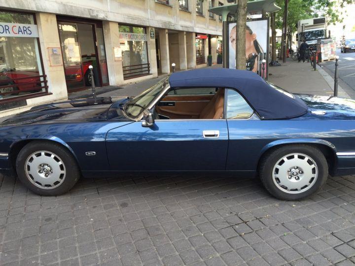 Jaguar XJS 4.0 Cabriolet Bleu nuit Occasion - 4