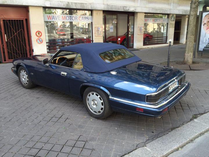 Jaguar XJS 4.0 Cabriolet Bleu nuit Occasion - 5
