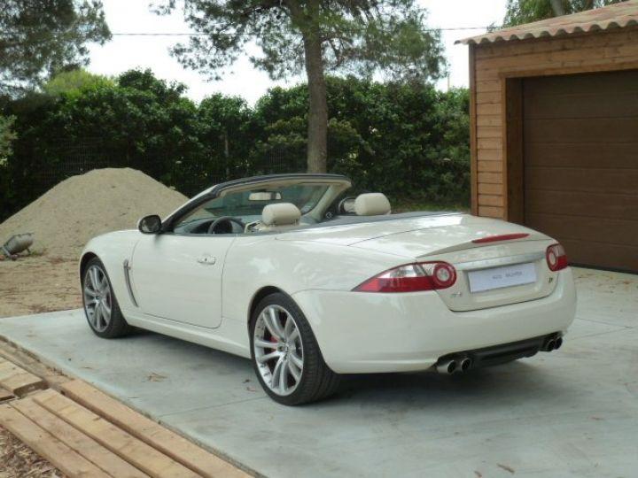 Jaguar XKR 4.2 L CONVERTIBLE BVA BLANC - 2