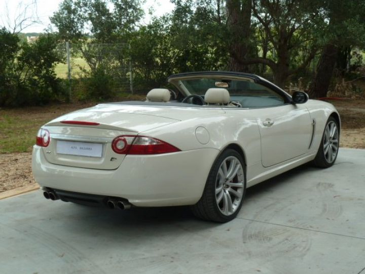 Jaguar XKR 4.2 L CONVERTIBLE BVA BLANC - 6