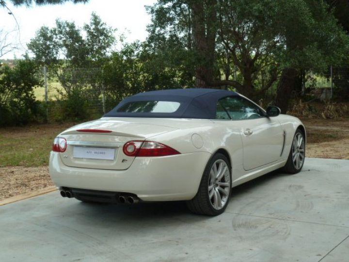 Jaguar XKR 4.2 L CONVERTIBLE BVA BLANC - 20