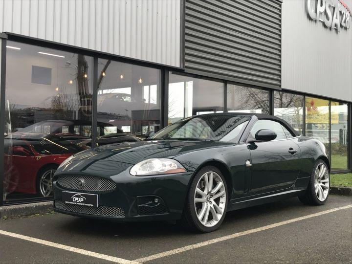 Jaguar XKR CABRIOLET 4.2 V8 416 R BVA vert metal - 1