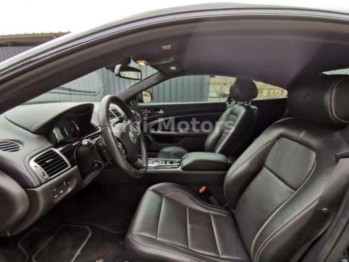 Jaguar XKR XK Coupé 5.0 V8 510 CV R XKR Compressor Toutes options et Garantie 12 Mois Livrée Noir Métal - 5