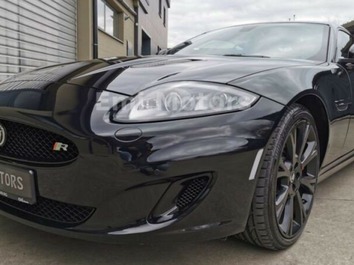 Jaguar XKR XK Coupé 5.0 V8 510 CV R XKR Compressor Toutes options et Garantie 12 Mois Livrée Noir Métal - 7