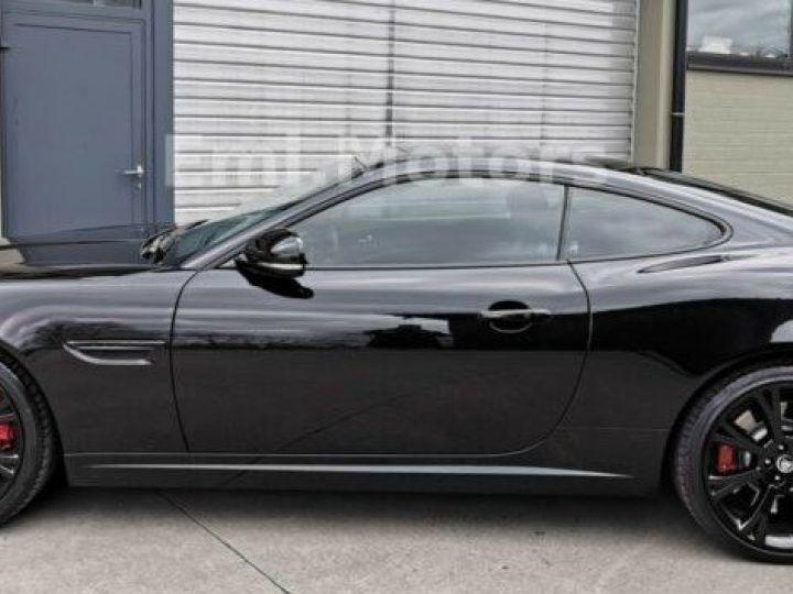Jaguar XKR XK Coupé 5.0 V8 510 CV R XKR Compressor Toutes options et Garantie 12 Mois Livrée Noir Métal - 8
