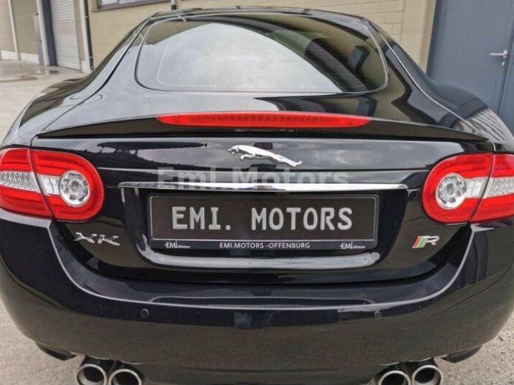 Jaguar XKR XK Coupé 5.0 V8 510 CV R XKR Compressor Toutes options et Garantie 12 Mois Livrée Noir Métal - 10