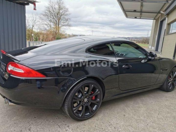 Jaguar XKR XK Coupé 5.0 V8 510 CV R XKR Compressor Toutes options et Garantie 12 Mois Livrée Noir Métal - 11