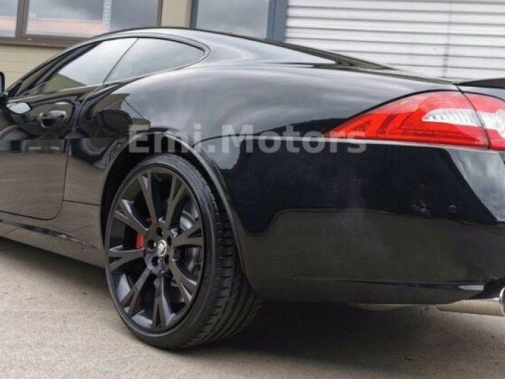 Jaguar XKR XK Coupé 5.0 V8 510 CV R XKR Compressor Toutes options et Garantie 12 Mois Livrée Noir Métal - 12