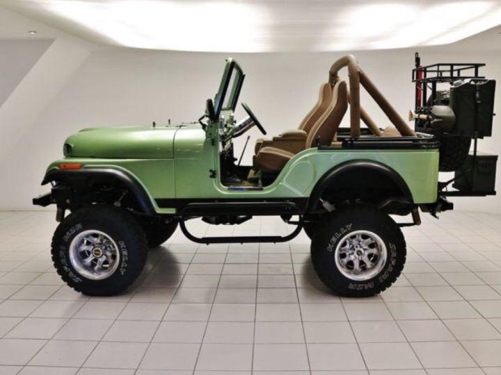 Jeep CJ5 - CJ8 Vert  Occasion - 2