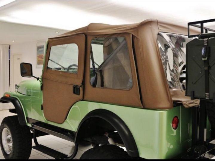 Jeep CJ5 - CJ8 Vert  Occasion - 3