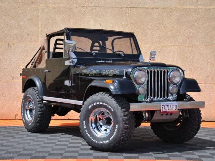Jeep CJ7 5.0L V8 304 GOLDEN EAGLE Noir - 1