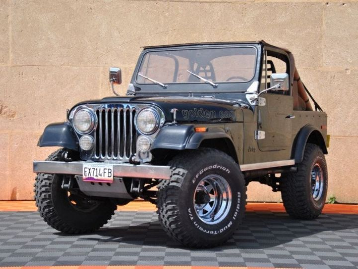 Jeep CJ7 5.0L V8 304 GOLDEN EAGLE Noir - 3