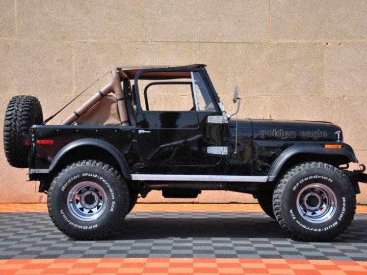 Jeep CJ7 5.0L V8 304 GOLDEN EAGLE Noir - 5