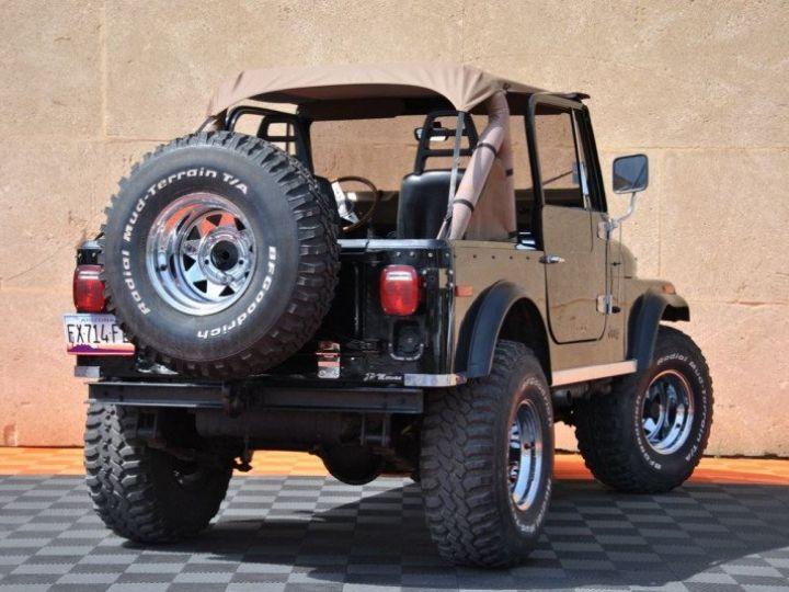 Jeep CJ7 5.0L V8 304 GOLDEN EAGLE Noir - 8