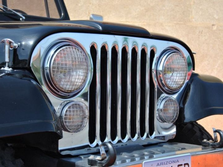 Jeep CJ7 5.0L V8 304 GOLDEN EAGLE Noir - 9