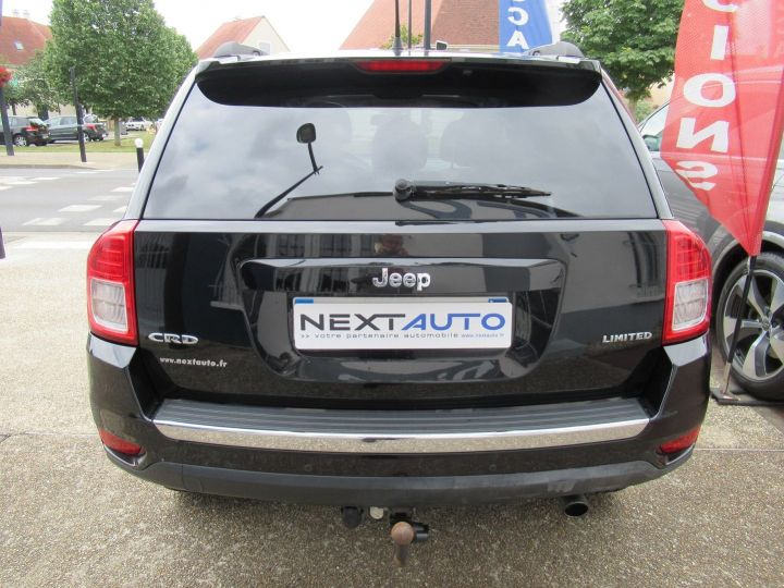 Jeep Compass 2.2 CRD 163 FAP LIMITED 4X4 Noir - 7