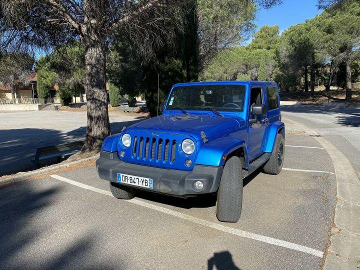Jeep Wrangler 2.8 CRD 200 FAP WRANGLERX BVA Bleu - 1