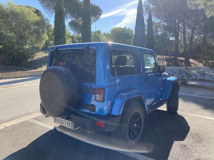 Jeep Wrangler 2.8 CRD 200 FAP WRANGLERX BVA Bleu - 3