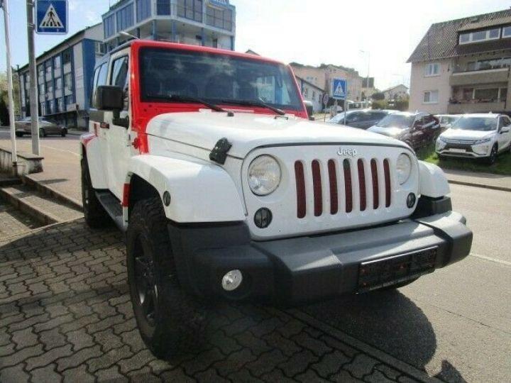 Jeep Wrangler Jeep Wrangler 2.8 CRD 200ch Unlimired Sahara BVA: GPS/ Attelage/ Gtie 12Mois/ TOUT INCLUS Blanc - 2