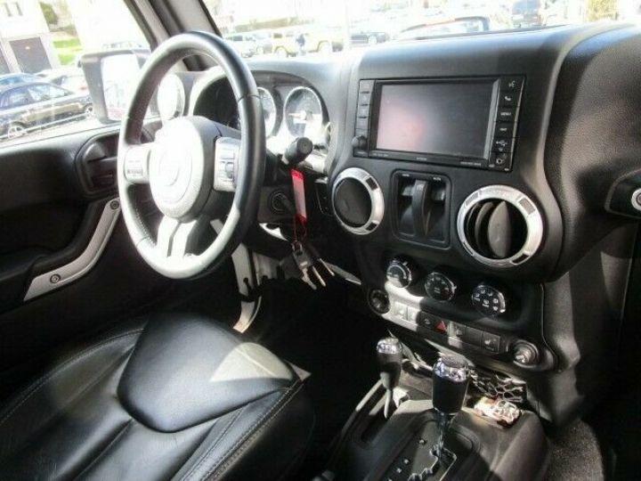 Jeep Wrangler Jeep Wrangler 2.8 CRD 200ch Unlimired Sahara BVA: GPS/ Attelage/ Gtie 12Mois/ TOUT INCLUS Blanc - 4